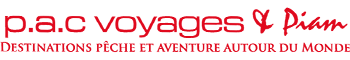 PAC Voyages & Piam Le numéro 1 du voyage de pêche.L'agence P.A.C Voyages propose ses destinations pêche et aventure dans le Monde. Spécialiste de la pêche à la mouche et de pêche au gros en mer réputée pour ses parcours exclusifs en Mongolie, au Gabon, en Alaska et au Chili.. @ peche poissons nouvelle-zélande bahamas allemagne autriche chili destinations feu irlande laponie madagascar mongolie alaska norvège pacvoyages