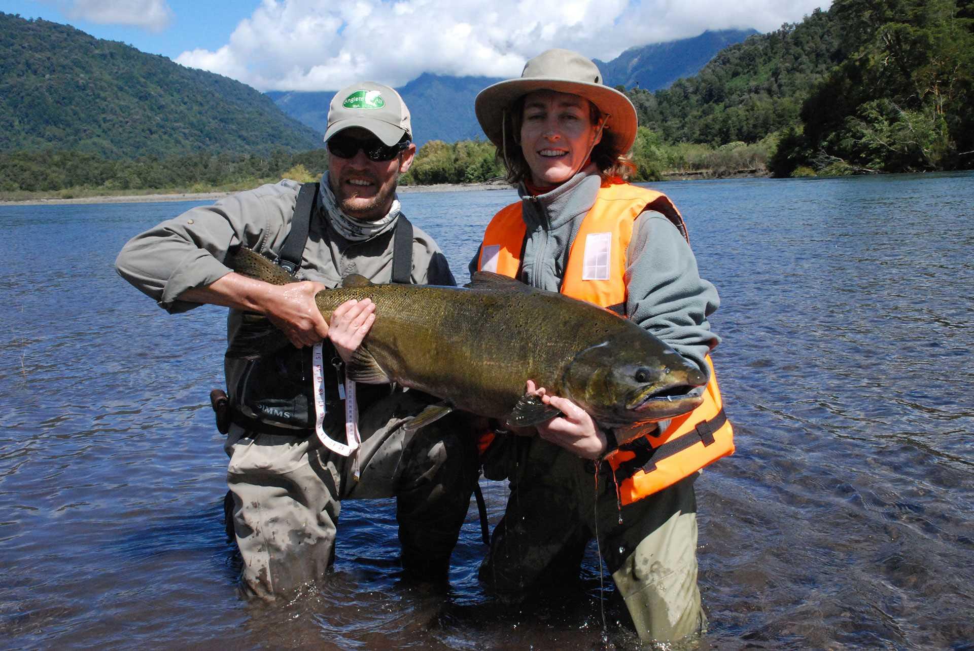 Chili Petrohue Gal Pac Voyages de pêche