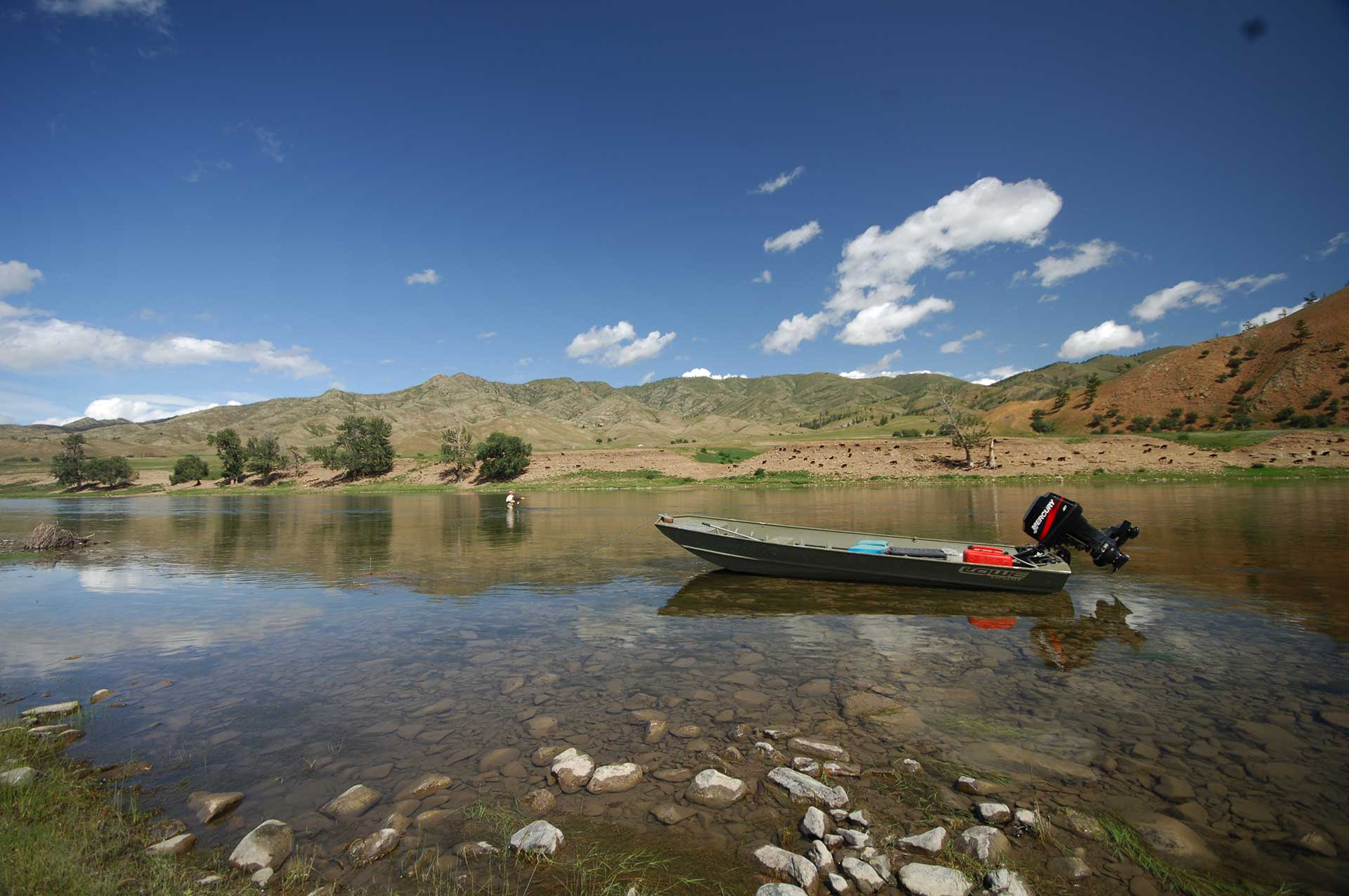 Mongolie Lodge Gal Pac Voyages de pêche