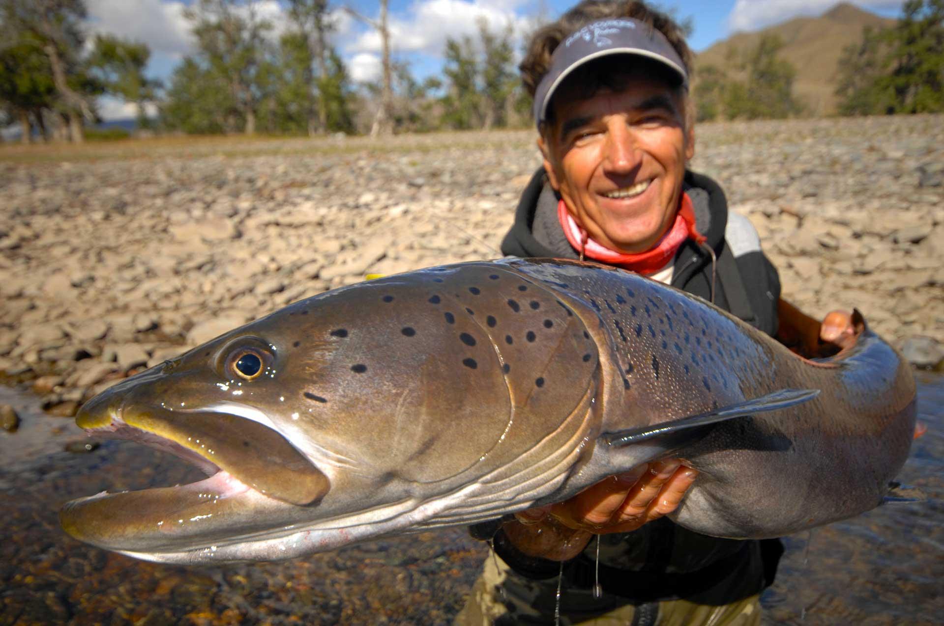 Mongolie Lodge Slid Pac Voyages de pêche