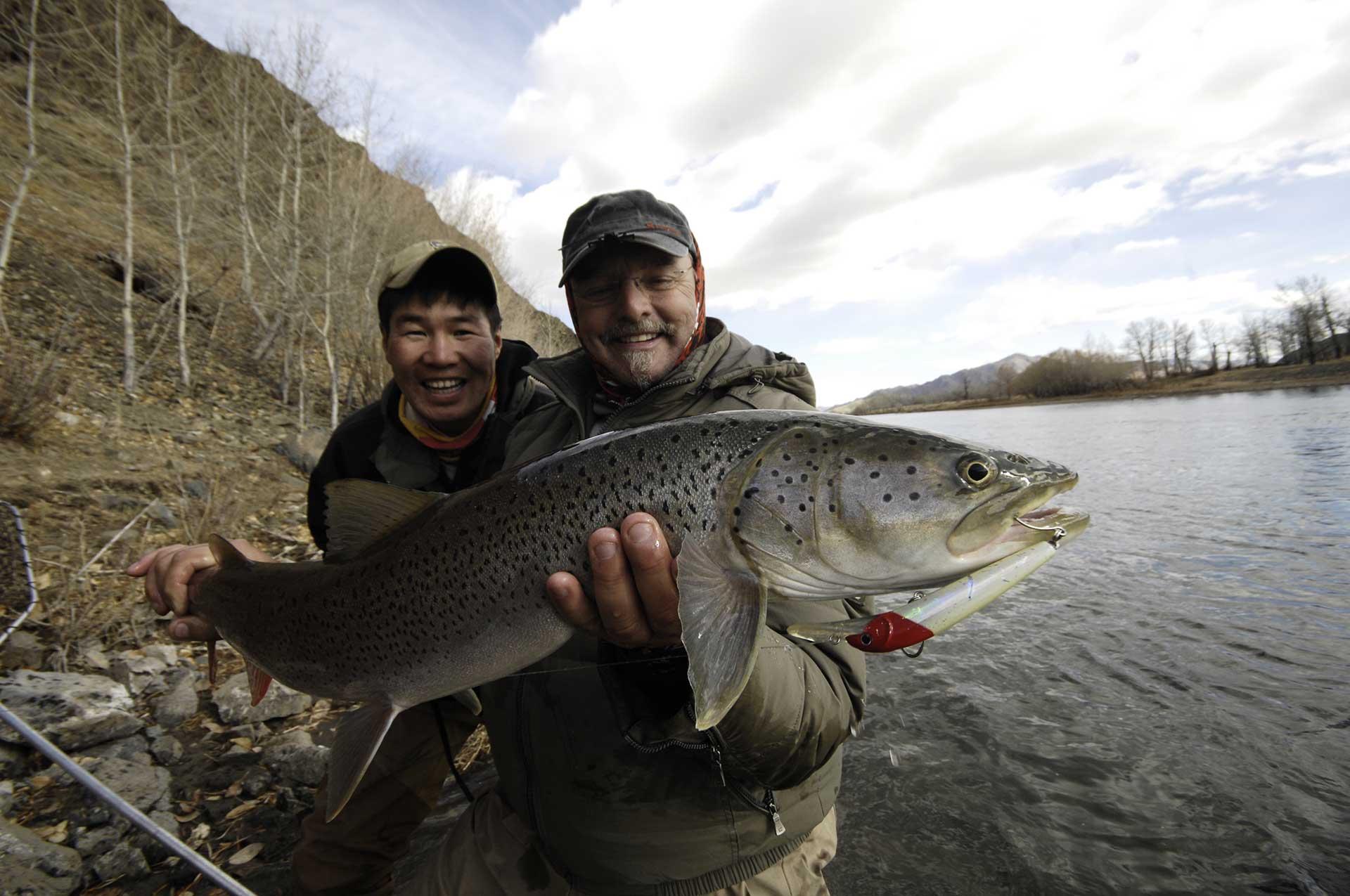 Mongolie Taimen Gal Pac Voyages de pêche