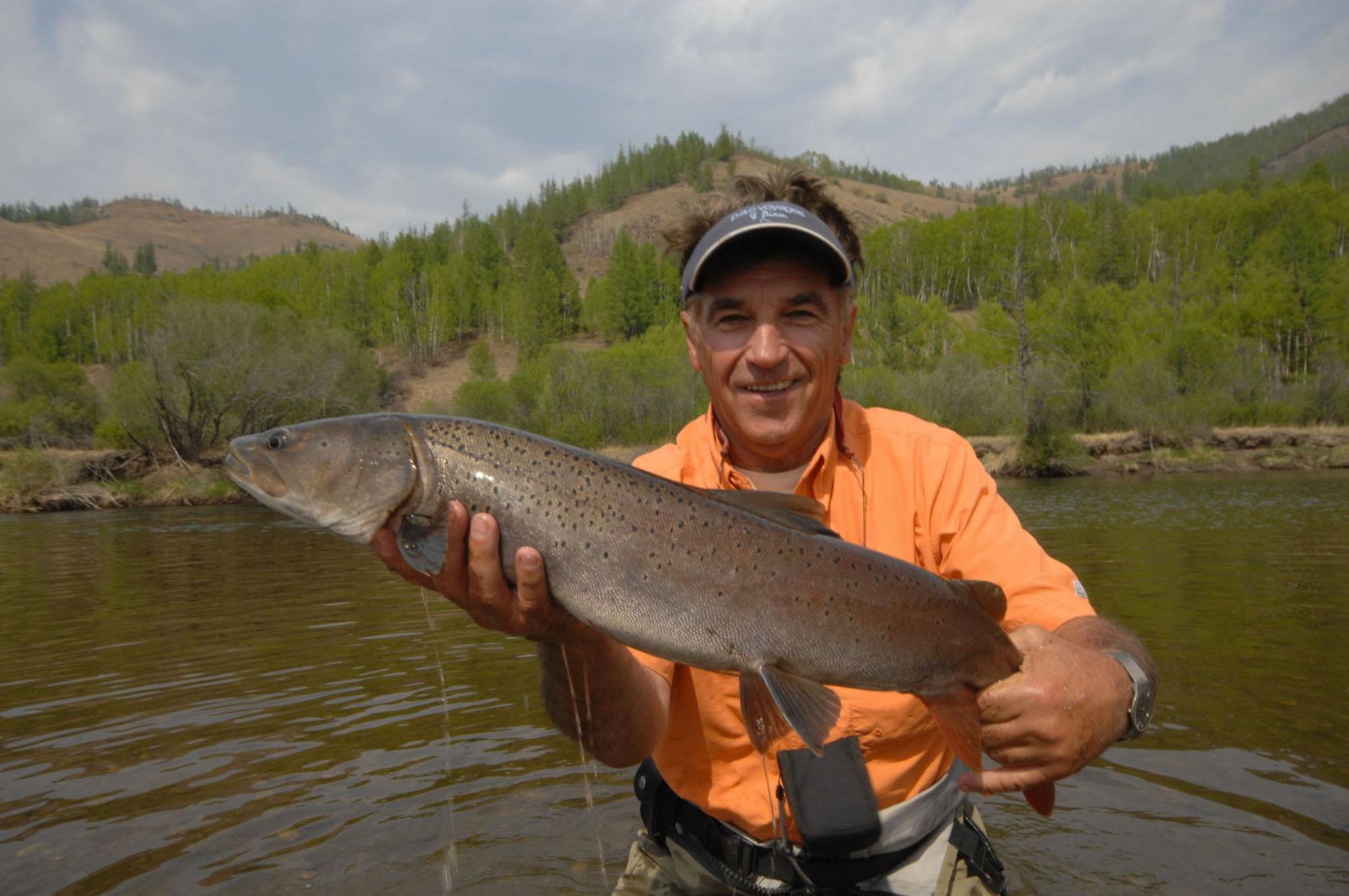 Mongolie Taimen Pac Voyages de pêche