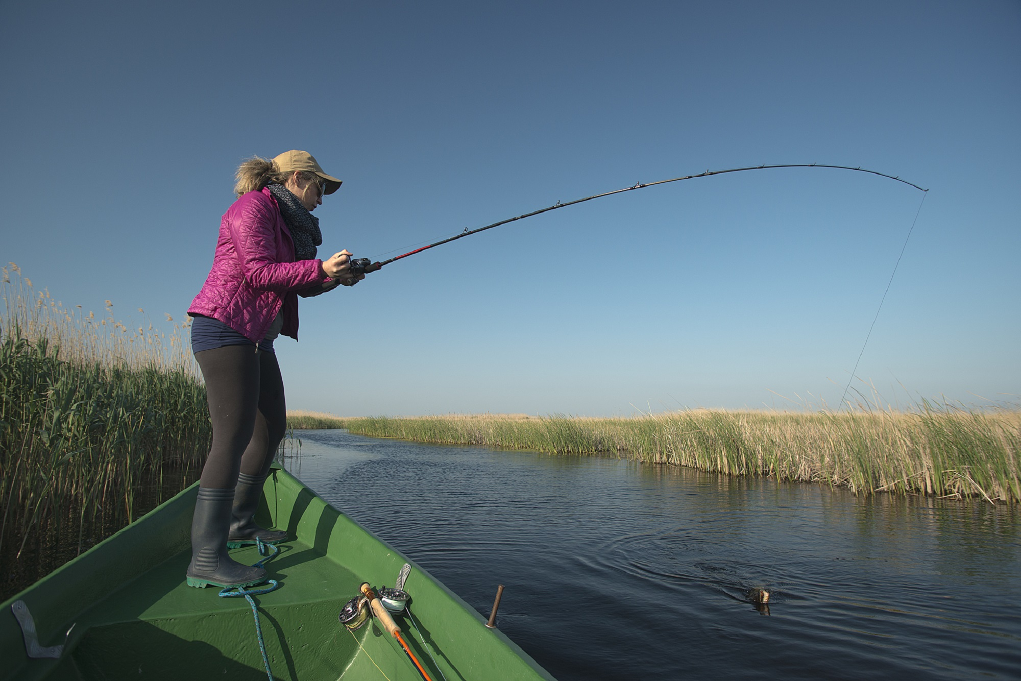 Le jeu la pêche du feutre du patron
