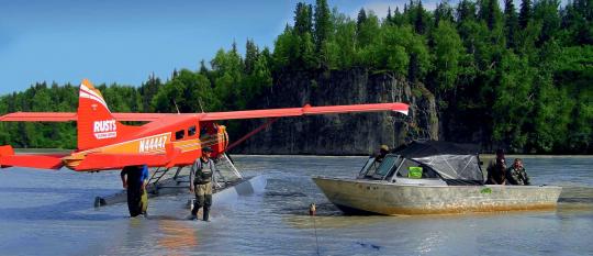 Alaska talachulitna PAC Voyages de pêche